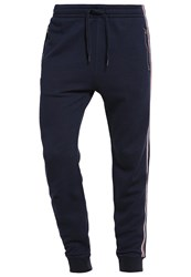 Abercrombie And Fitch Tracksuit Bottoms Navy Dark Blue
