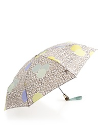 Marc By Marc Jacobs Floating Dot Umbrella Slate Gray Multi