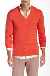 Ben Sherman The V Neck Sweater Red
