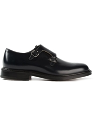 Church's Monk Strap Shoes Blue