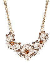 Miss Selfridge Necklace Goldcoloured Glitter