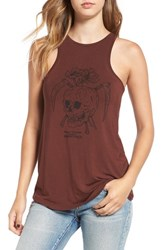 Obey Women's 'Reap Skull' Graphic Tank
