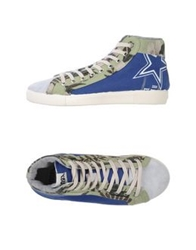 Springa High Tops And Trainers Blue