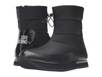 Love Moschino Ankle Snow Boot Black Women's Boots