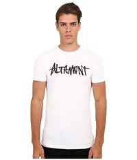 Altamont One Liner White Men's Short Sleeve Pullover