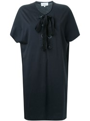 3.1 Phillip Lim Lace Up T Shirt Dress Black