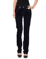 Nicwave Trousers Casual Trousers Women Dark Blue