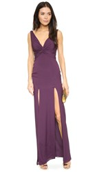 Katie May Charlize Gown Plum