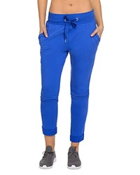 2Xist 2 X Ist Rollup French Terry Jogger Pants 100 Bloomingdale's Exclusive Cobalt