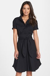 Cynthia Steffe Women's 'Maya' Belted Poplin Fit And Flare Shirtdress Nordstrom Exclusive