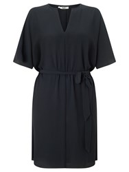 Bzr Josse Crepe Dress Navy