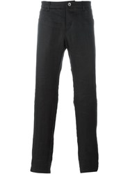 Individual Sentiments Slim Lightweight Trousers Black