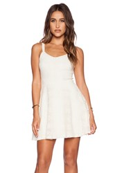 Eight Sixty Crochet Lace Dress Ivory