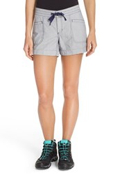 The North Face Women's 'Wander Free' Shorts Patriot Blue Stripe