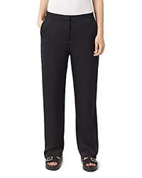Allsaints Ivana Wide Leg Pants Ink Blue