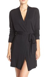 Yummie Tummie Women's By Heather Thomson Jersey Robe Black