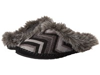 Sanuk Willow Pillow Black Multi Chevron Women's Slip On Shoes