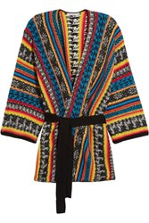 Mes Demoiselles Goran Knitted Cardigan Blue