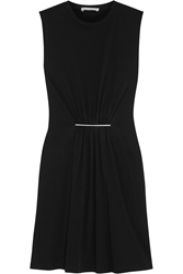Christopher Kane Embellished Cotton Jersey Dress