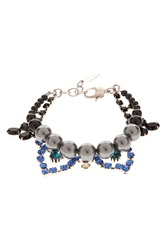 Joomi Lim Crystal And Pearl Bracelet