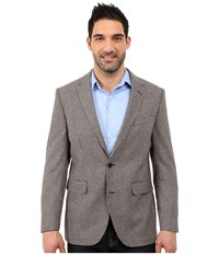 Dockers Battery Street Sport Coat Brown Houndstooth Men's Jacket