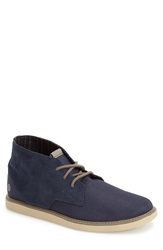Volcom 'Del Mesa' Water Resistant Chukka Boot Men Blue Black