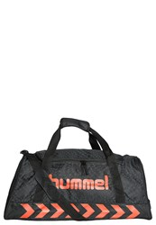 Hummel Kinetic Sports Bag Black Grenadine