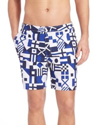 Polo Ralph Lauren Geometric Print Shorts Multi