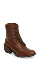 Woolrich Women's Western Territory Water Resistant Bootie Ginger Leather