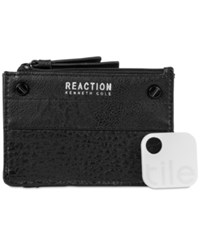 Kenneth Cole Reaction Rfid Key Coin Purse With Tracker Black