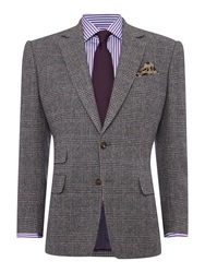 Chester Barrie Button Blazer Grey