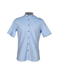 Aglini Shirts Sky Blue