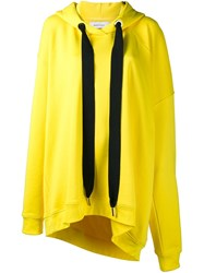 Marques Almeida Marques'almeida Oversized Hoodie Yellow And Orange