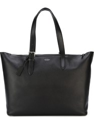Smythson 'Burlington' Tote Black