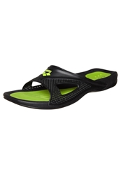 Arena Hydrofit Hook Sandals Black Green
