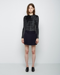Alexander Wang Pleated Skort Jet