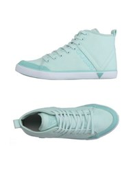 Guess Footwear High Tops And Trainers Women Turquoise