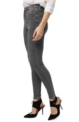 Topshop Women's 'Jamie' High Rise Ankle Skinny Jeans