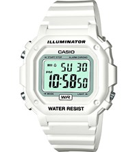 Casio F 108Whc 7Bef Illuminator Resin Digital Watch Lcd