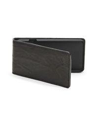 William Rast Iphone 6 Flip Wallet Black