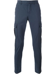 Dondup Slim Fit Cargo Pants Blue