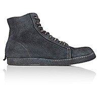 Shoto Men's Wrapped Sole High Top Sneakers Dark Grey Size 6 M