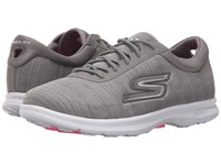 Skechers Go Step Unmatched Gray Women's Shoes