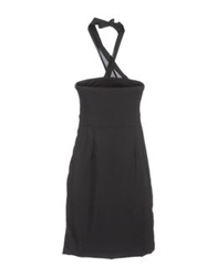 E Go' Sonia De Nisco Short Dresses Black