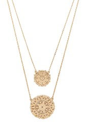 Forever 21 Filigree Pendant Necklace Set