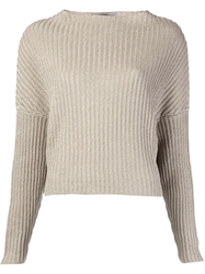 Dusan Knit Sweater Nude And Neutrals