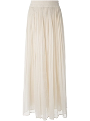 Mes Demoiselles 'Prima' Maxi Skirt Nude And Neutrals