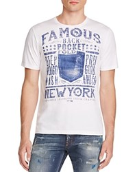 Prps Goods And Co. Famous Back Pocket Tee White