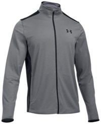Under Armour Men's Maverick Mock Neck Jacket Graphite