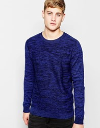 Jack And Jones Jack And Jones Knitted Crew Neck Jumper Dressblue